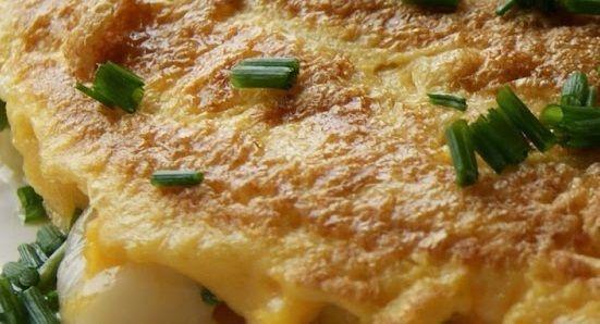 Omelete de Rúcula