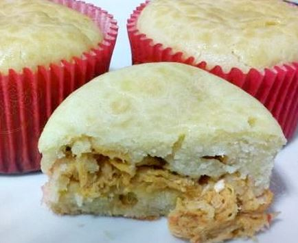 Cupcake Torta de Frango