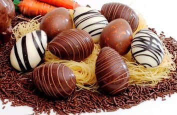 Mini Ovos de Chocolate