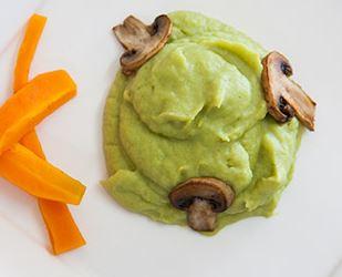 Puré de Batata e Brócolos