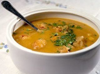 Sopa de Inhame e Batata