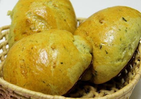 Pão de Manjericão