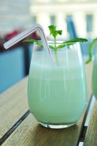 Milkshake verde