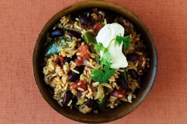 arroz espanhol com tomates
