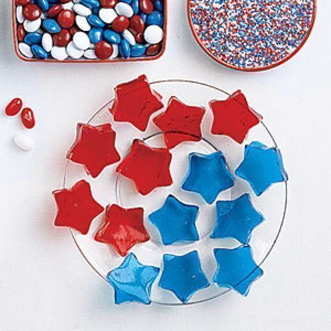 Estrelas de gelatina