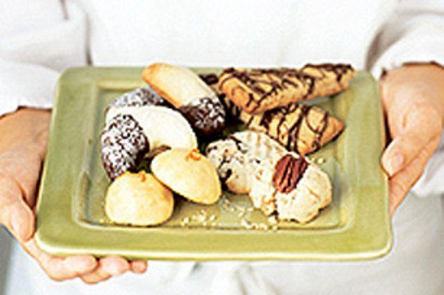 Biscoitos fáceis de laranja