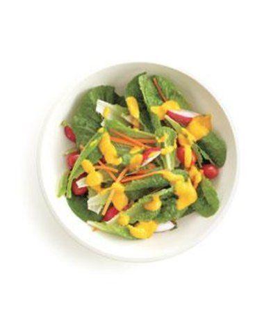 Molho para salada de cenoura e miso