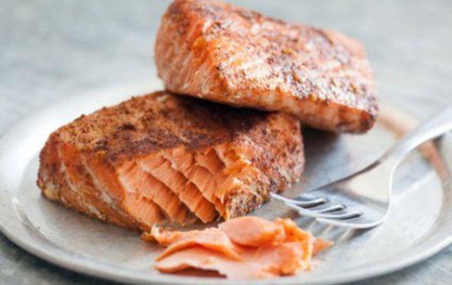 Filé de salmão simples