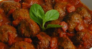 Almôndegas de Carne Moída ao Forno