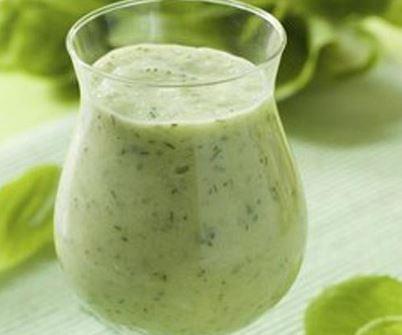 Suco de Espinafre e Laranja