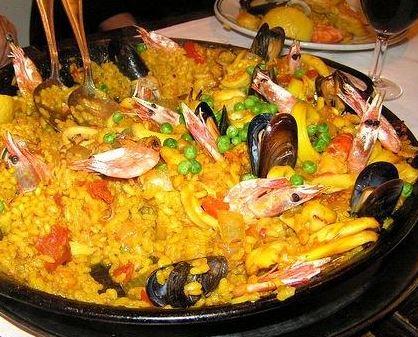 Paella a la Valenciana