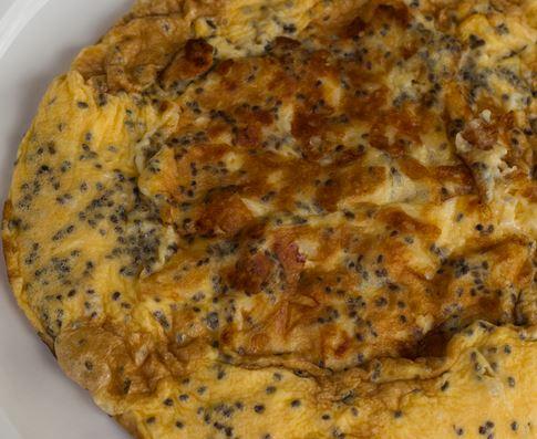 Omelete pão de queijo sem gluten