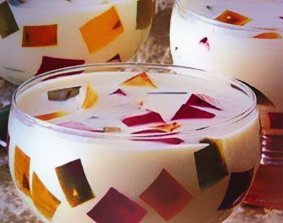 Gelatinas em mosaico