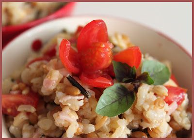 Prato único de arroz