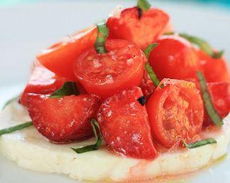 Salada de Morangos com Tomate