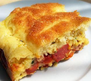Torta Fácil de Salsicha