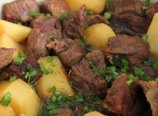 Carne com Batata