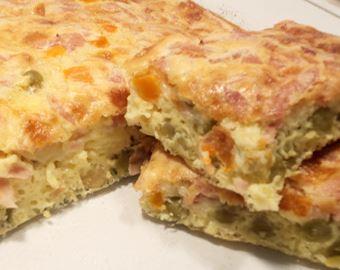 Omelete de Legumes ao Forno