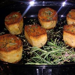 Batatas grelhadas
