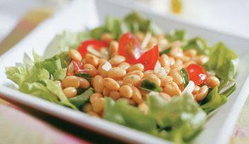 Salada com Grãos de Soja