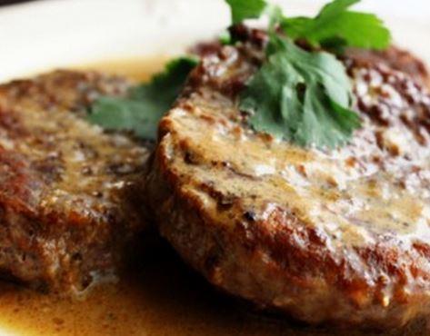 Hambúrguer de vitela com Molho