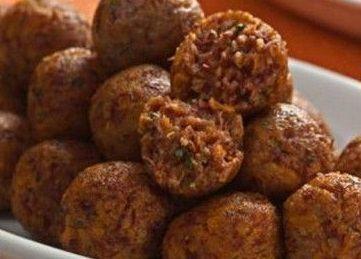 Almôndegas de Abóbora com Carne-Seca