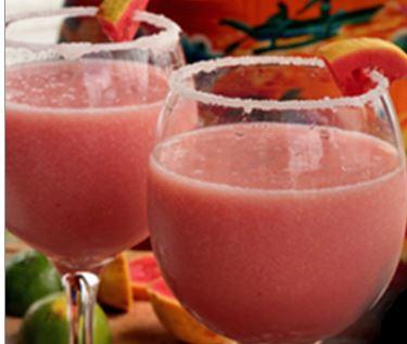Drink de Goiaba e Lichia