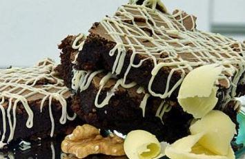 Brownie sem farinha light