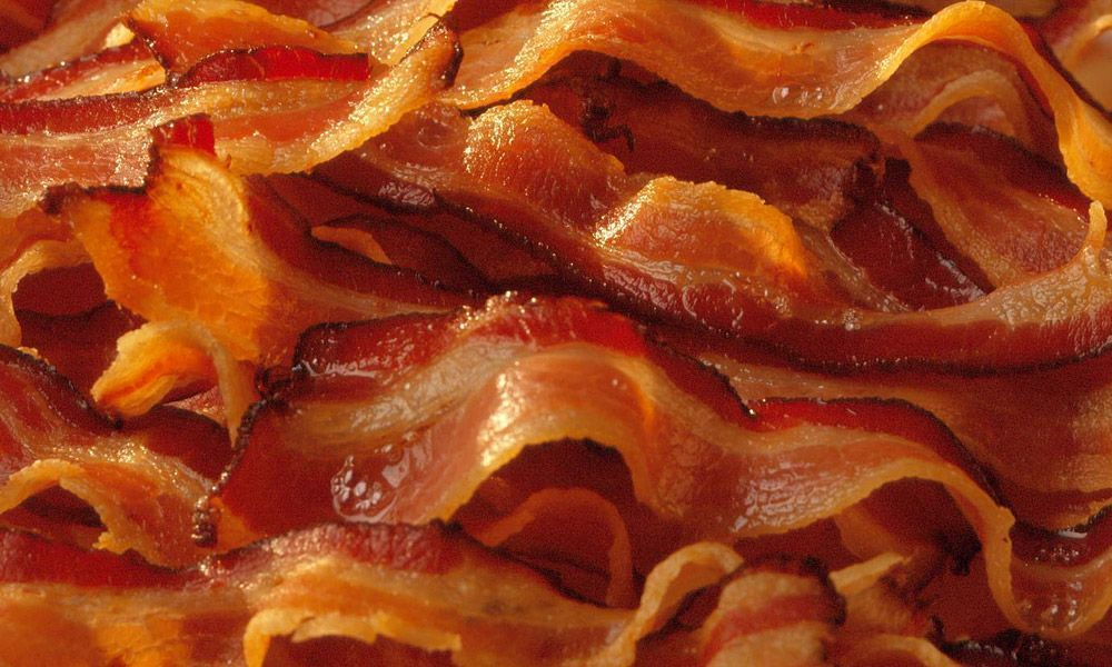 Bacon sem fumaça