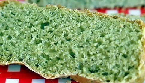 Pão de Espinafre e Ervas