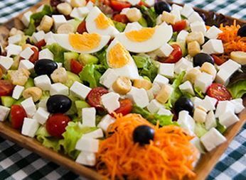 Salada de Queijo de Cabra