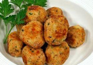 Almondega de Legumes