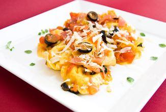 Tortellini com Presunto e Molho de Tomate