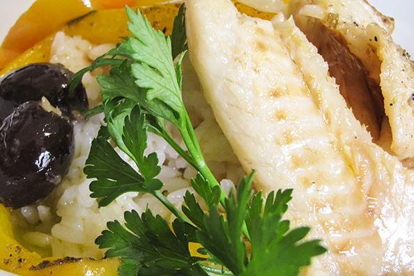 Lascas de Bacalhau com Mandioquinha