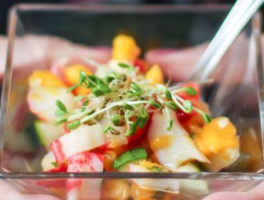Salada Colorida de Kani