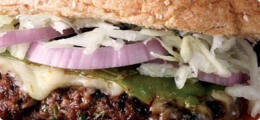 Hambúrguer Fajita