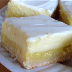 Torta de queijo com limão