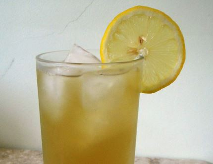 Suco de Limão Siciliano com Capim Limão