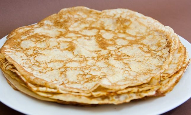 Massa crepes Simples