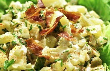 Salada de maionese tropical