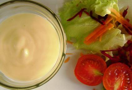 Molho Cremoso para Salada