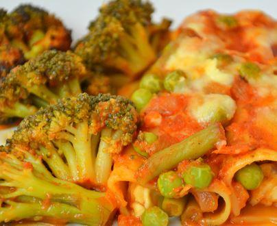 Canelone de Verduras para Jantar