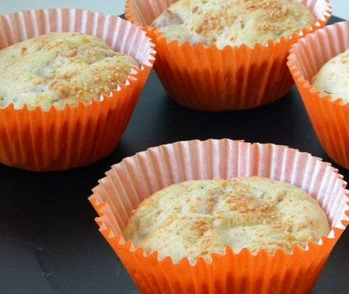 Muffin de Calabresa e Abobrinha