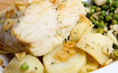 Bacalhau com Aspargos