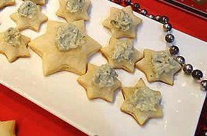 Estrelinhas com Pasta de Gorgonzola