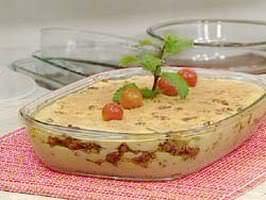 Torta de carne moída com batata
