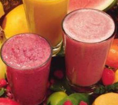 Suco de Abacaxi e Goiaba