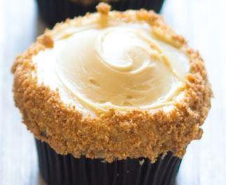Cupcake de Paçoca e Manteiga de Amendoim
