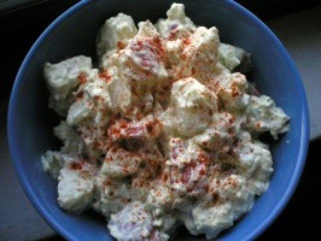 Salada clássica de batata