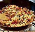 Arroz oriental de ovos fritos